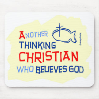 Another Thinking Christian Gift Design Mouse Pads
