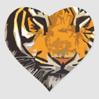 another tiger heart sticker