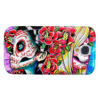 Another Time And Place Sugar Skull Girl Galaxy S4 Cover