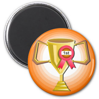Another Trophy 2 Inch Round Magnet
