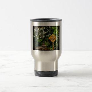 Another way - steel coffee mug
