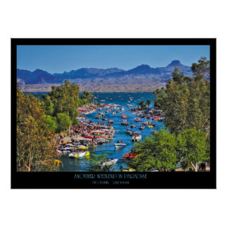Another Weekend in Paradise Channel Wall Art Posters
