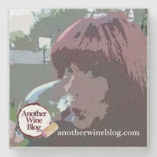 Another Wine Blog @WineWonkette Marble Coaster