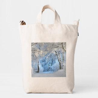 another winter wonderland duck bag