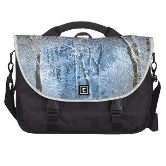 another winter wonderland computer bag