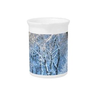 another winter wonderland drink pitcher