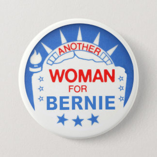 Another Woman for Bernie Button