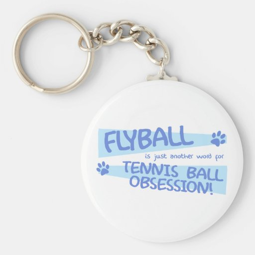 Another Word for Flyball Keychain