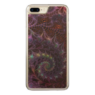 Another World Fantasy Fractal Abstract Art Carved iPhone 7 Plus Case