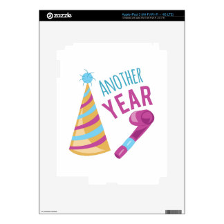 Another Year Decal For iPad 3