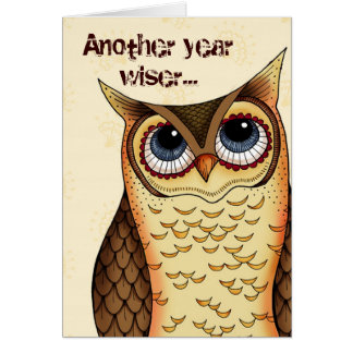 Another Year Wiser Cards