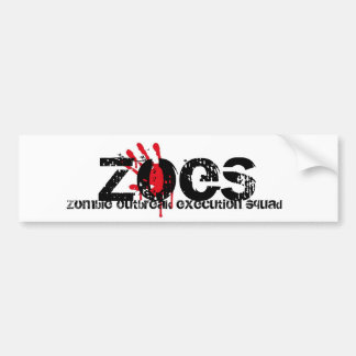Another ZOES Bumper Sticker