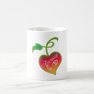 Anoush Heart Classic White Coffee Mug