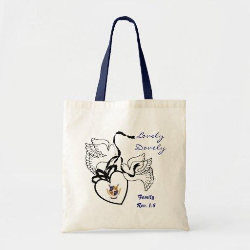 ANQ Dove Tote Budget Tote Bag