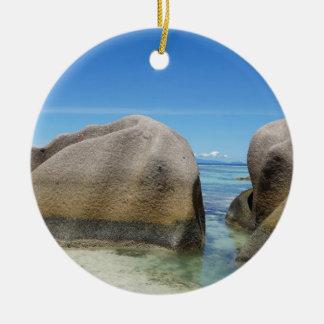 anse source d'argent ceramic ornament