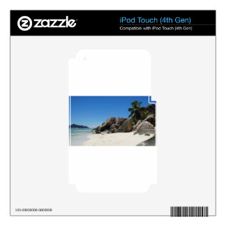 anse source d'argent decals for iPod touch 4G