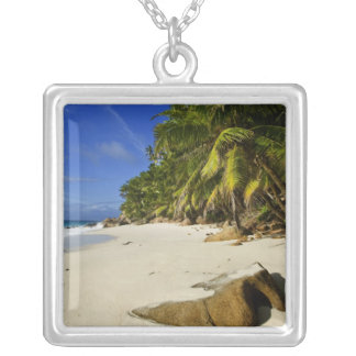 Anse Victorin Beach Silver Plated Necklace