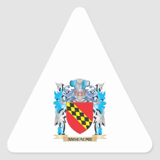 Anseaume Coat Of Arms Stickers