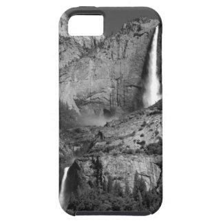 Ansel Adams like Upper and Lower Yosemite Falls iPhone SE/5/5s Case