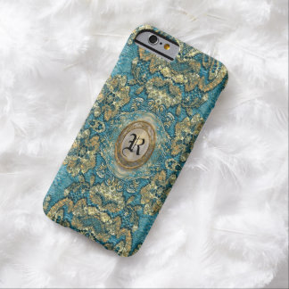 Ansel Corin Lace Victorian  Monogram Barely There iPhone 6 Case