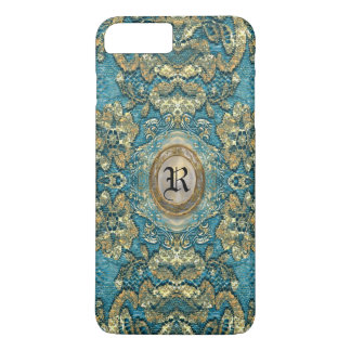 Ansel Corin Lace Victorian Monogram Featherlight iPhone 8 Plus/7 Plus Case