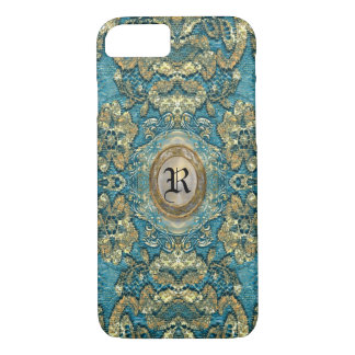 Ansel Corin Lace Victorian Monogram iPhone 8/7 Case