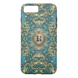 Ansel Corin Lace Victorian Monogram iPhone 8 Plus/7 Plus Case
