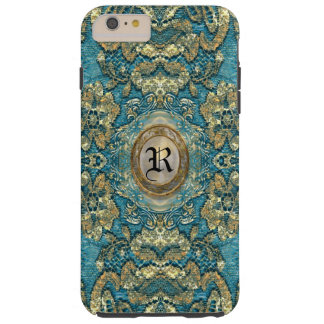 Ansel Corin Lace Victorian  Monogram Tough iPhone 6 Plus Case