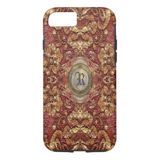 Ansel Darcy Lace Victorian Monogram iPhone 8/7 Case