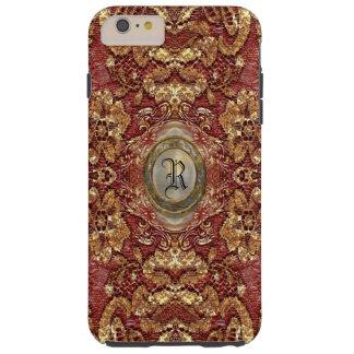 Ansel Darcy Lace Victorian  Monogram Tough iPhone 6 Plus Case