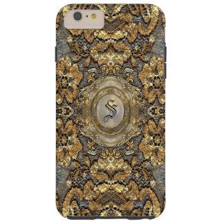 Ansel Grande Lace Victorian  Monogram Tough iPhone 6 Plus Case