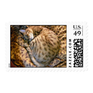 Ansel Napping Timbres Postales