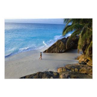 Ansi Victorin Beach, Fregate Island Art Photo