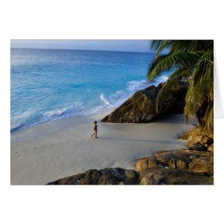 Ansi Victorin Beach, Fregate Island Card