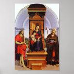 Ansidei Madonna Print