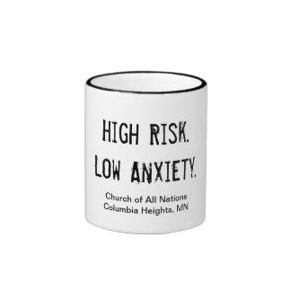 ansiedad baja de riesgo elevado de la Prueba-taza Taza De Dos Colores