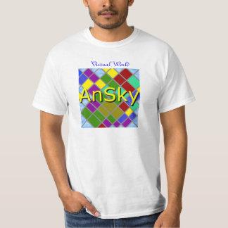 AnSky Grid Tshirt