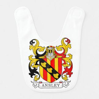Ansley Coat of Arms Bib