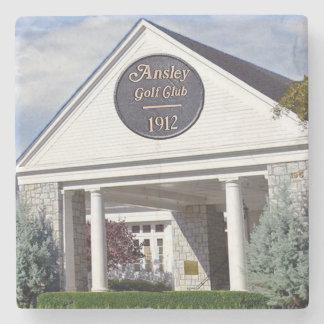 Ansley Golf Club, Atlanta Landmark Marble Coasters