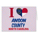 Anson County, North Carolina Cards