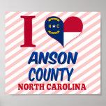 Anson County, North Carolina Poster