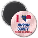 Anson County, North Carolina Refrigerator Magnet