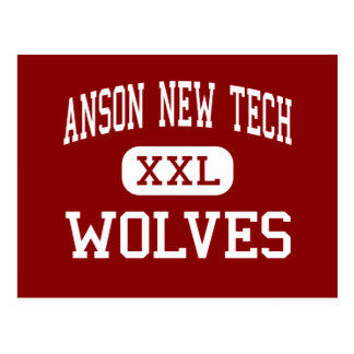 Anson New Tech - Wolves - High - Wadesboro Postcard