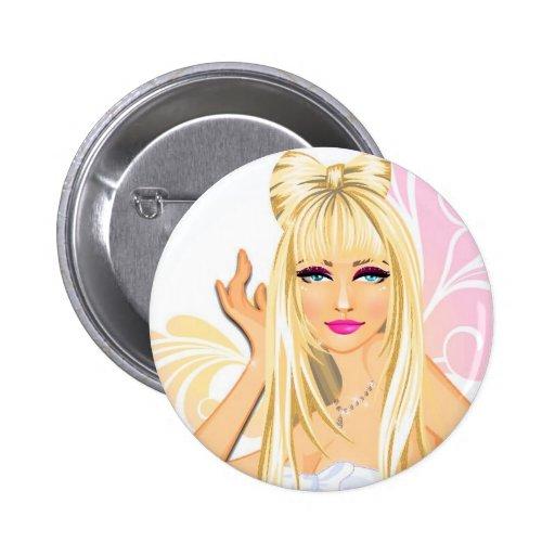 Anstecker Girl Pin