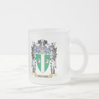 Anstice Coat of Arms - Family Crest Frosted Glass Coffee Mug