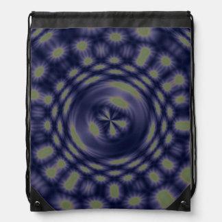 Anstract Art Fantasy Stars Drawstring Bags