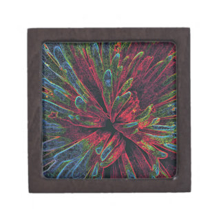 Anstract Color Explosion Gift Box