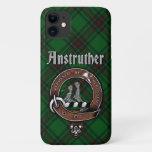 Anstruther Clan Badge &Tartan Phone Case