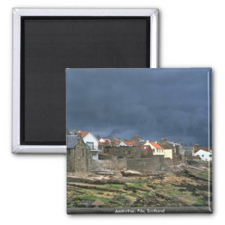 Anstruther, Fife, Scotland 2 Inch Square Magnet