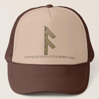 Ansuz Rune gold Trucker Hat